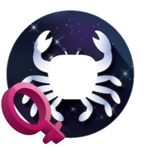 Cancer woman zodiac sign