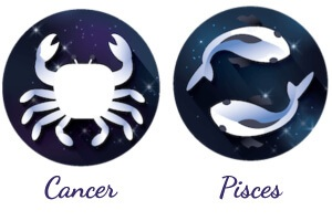 Pisces and Cancer compatibility match