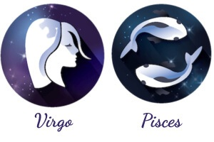 The Pisces and Virgo zodiac signs