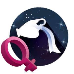 The sign for Aquarius woman