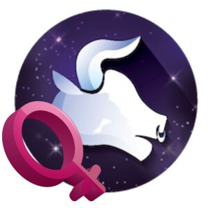 The symbol for a Taurus woman